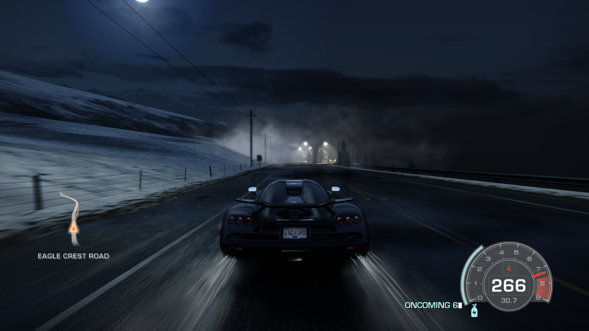 Need for Speed: Hot Pursuit Windows Snow storm.