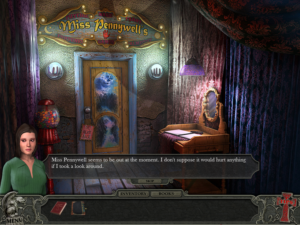 Hidden Mysteries: Vampire Secrets Windows Fortune teller