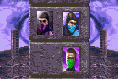 Ultimate Mortal Kombat 3 Game Boy Advance Climbing up the ladder