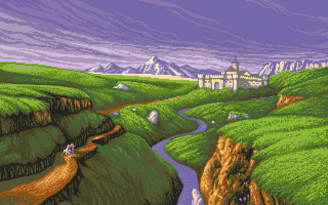 Lands of Lore: The Throne of Chaos PC-98 Lands of Lore is exclusively 16 colors on PC-98.