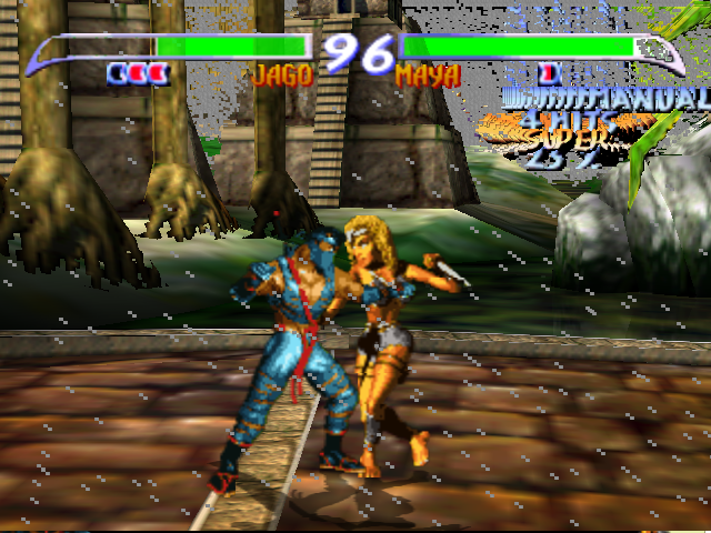 Killer Instinct Gold Nintendo 64 Jago vs. Maya