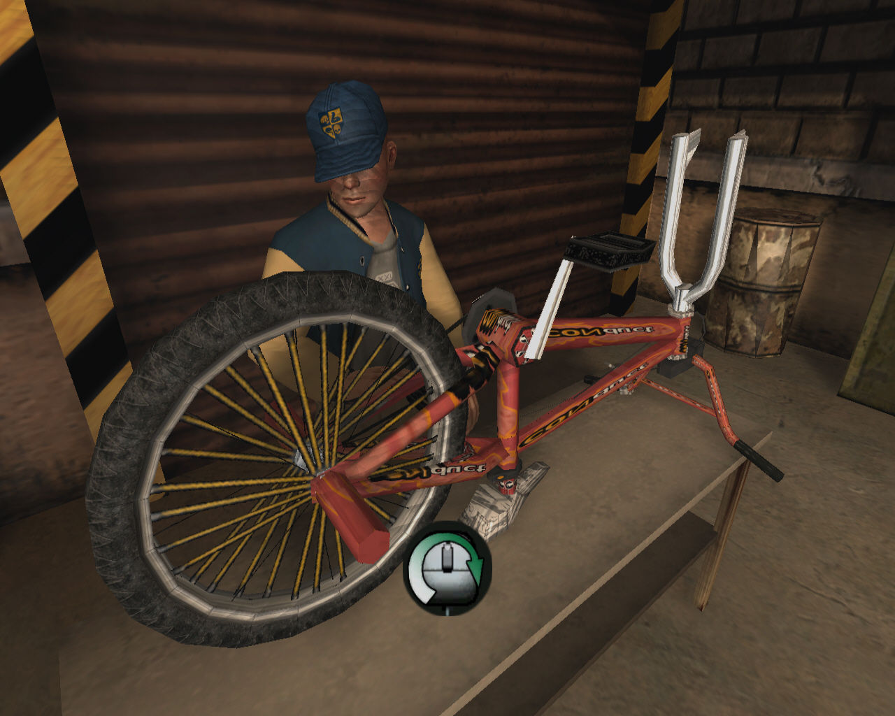 Bully: Scholarship Edition Windows You can fine-tune your bicycle at the shop class.