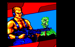 Mercs Amstrad CPC Intro