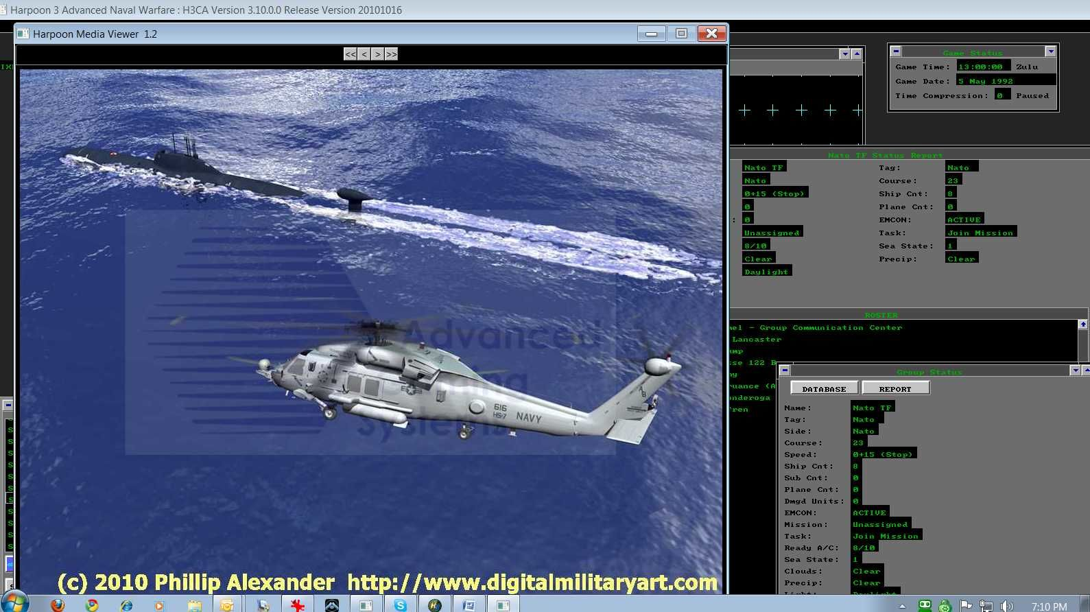 Larry Bond's Harpoon: Ultimate Edition Windows Digital Military Artwork (Both products)