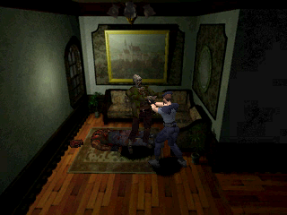 Resident Evil: Director's Cut PlayStation And so the slightly different nightmare begins again!