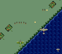 Twin Hawk TurboGrafx CD These tanks can shoot treacherous curved fire