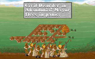 Sid Meier's Civilization DOS That's what you get when you fail at micromanagement...