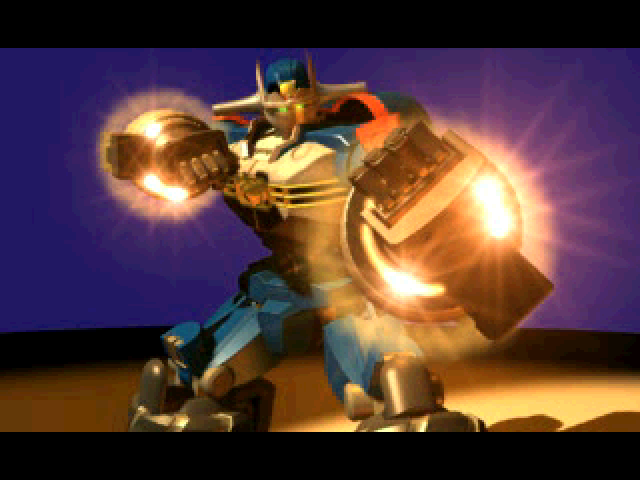 Gear Senshi Dendoh PlayStation (Intro movie) The titular mecha Dendoh