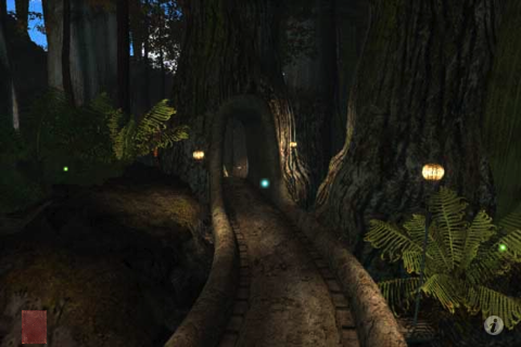 Riven: The Sequel to Myst iPhone Inside the jungle.