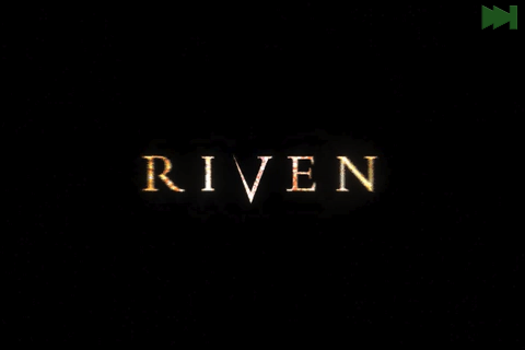 Riven: The Sequel to Myst iPhone Riven logo.