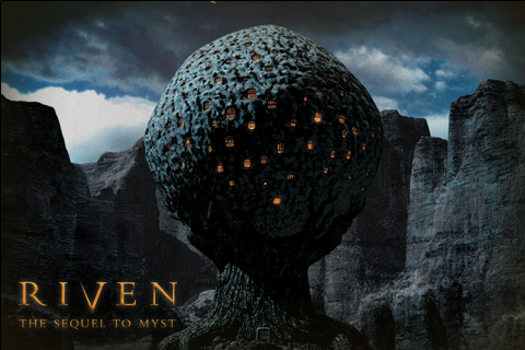 Riven: The Sequel to Myst iPhone Splash screen.