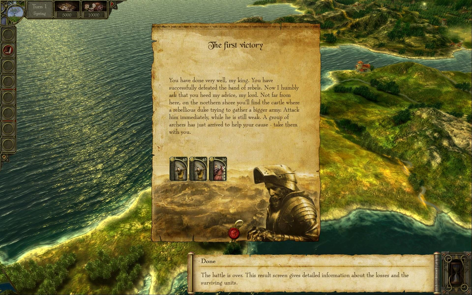 King Arthur: The Role-playing Wargame Windows Campaign tutorial