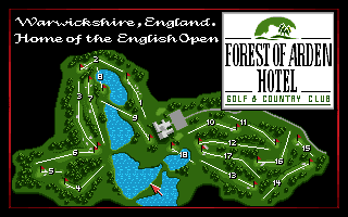 PGA European Tour Amiga CD32 This is where I'll be playing.