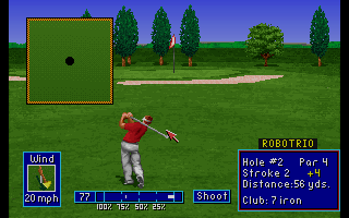PGA European Tour Amiga CD32 Here we go again!