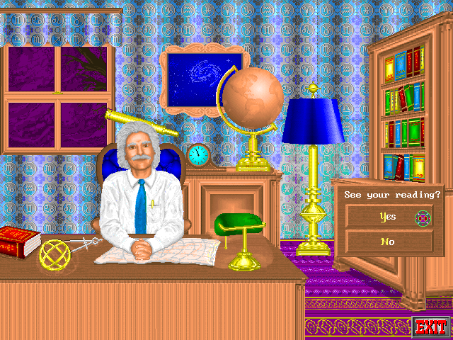 Rosemary West's House of Fortunes DOS Visiting the Astrology room