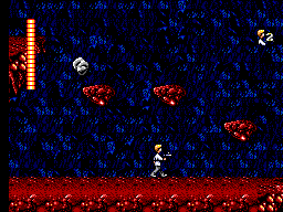 Star Wars SEGA Master System Another cave, this time with falling rocks