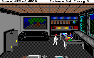 Leisure Suit Larry III: Passionate Patti in Pursuit of the Pulsating Pectorals Amiga Talking with a lawyer