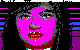 Leisure Suit Larry III: Passionate Patti in Pursuit of the Pulsating Pectorals Amiga Suzi Cheatem...your lawyer