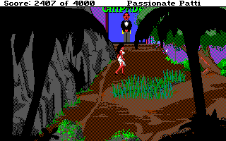 Leisure Suit Larry III: Passionate Patti in Pursuit of the Pulsating Pectorals Amiga Any chance this guy will let you into Chip 'n Dales?