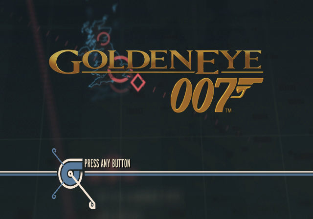 GoldenEye 007 Wii Title Screen