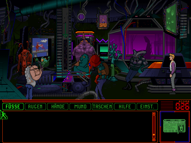 Space Quest 6: Roger Wilco in the Spinal Frontier DOS At the arcades...