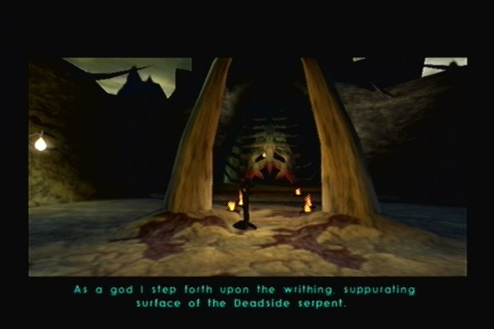 Shadow Man Dreamcast Stronger lighting engine than present on the N64