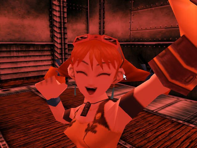 "Skies of Arcadia Dreamcast ""We won, we won!"" :)"
