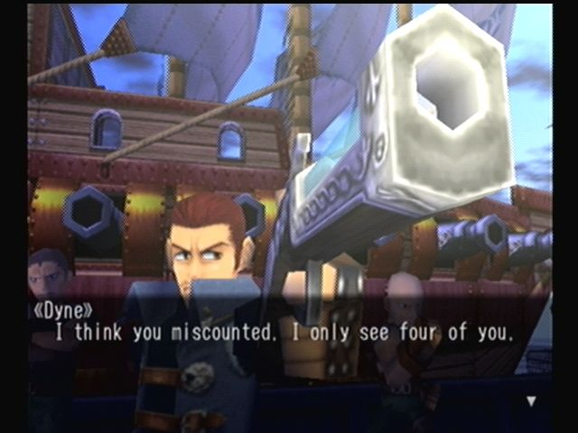 Skies of Arcadia Dreamcast Now *that's* how you make an entrance!