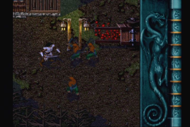 Blood Omen: Legacy of Kain PlayStation Meanwhile, nobleman Kain gets jumped by some thugs.