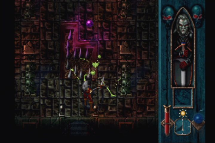 Blood Omen: Legacy of Kain PlayStation Skeletons are no match for your sword.
