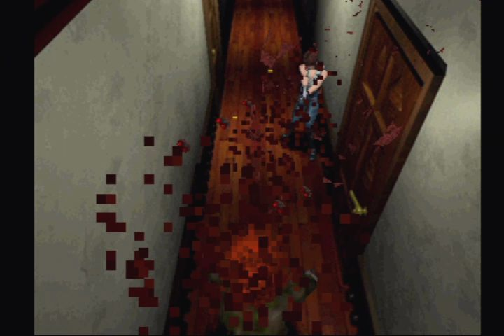 Resident Evil: Director's Cut PlayStation The custom Beretta has a random chance to one-hit kill standard zombies.