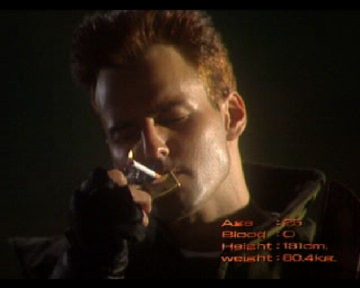 Resident Evil: Director's Cut PlayStation (French intro) Chris smokes, cut from the original release.