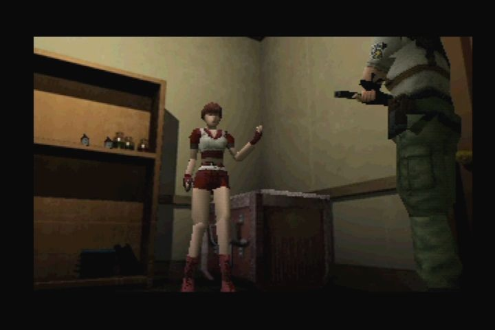 Resident Evil: Director's Cut PlayStation Rebecca's new costume