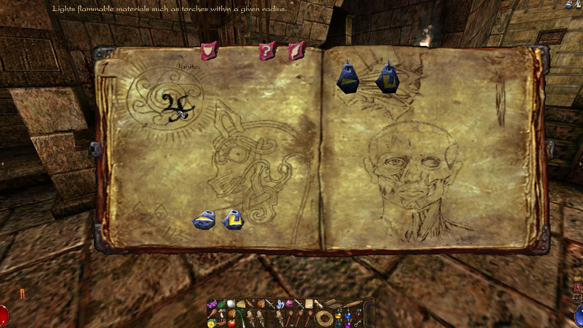 Arx Fatalis Windows Spell Book