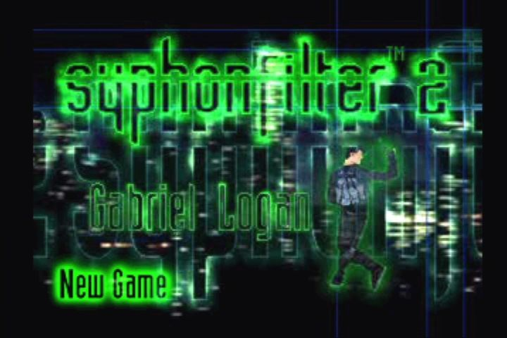 Syphon Filter 2 PlayStation Title screen