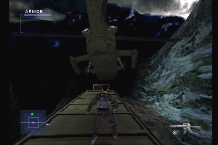 Syphon Filter 2 PlayStation Meanwhile, Agency forces trap Gabe on a train.