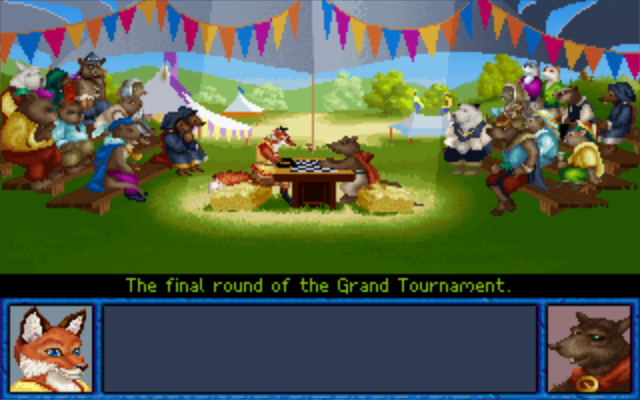 Inherit the Earth: Quest for the Orb Macintosh Grand Puzzle Tournament