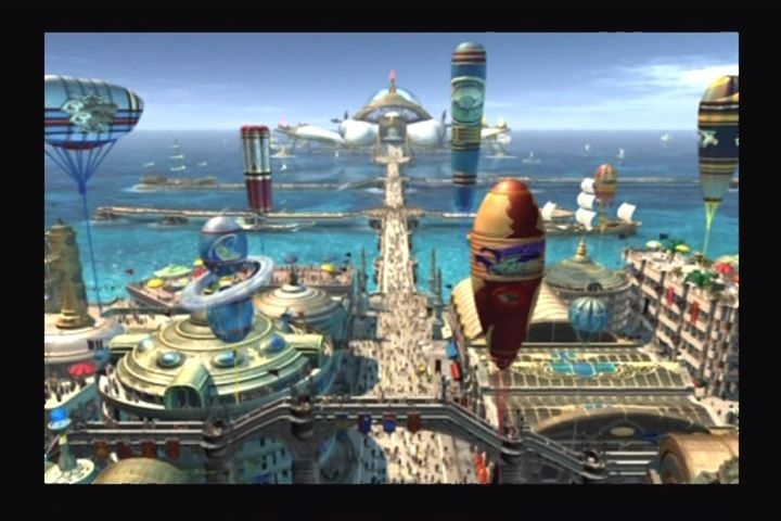 Final Fantasy X PlayStation 2 City of Luca.