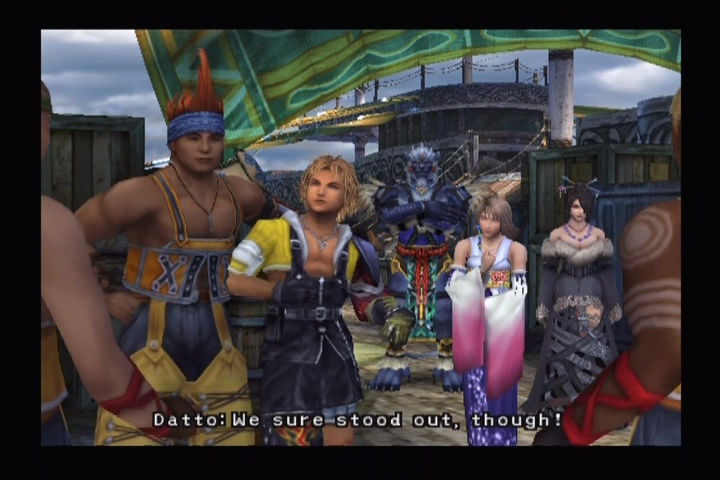 Final Fantasy X PlayStation 2 The gang's all here.
