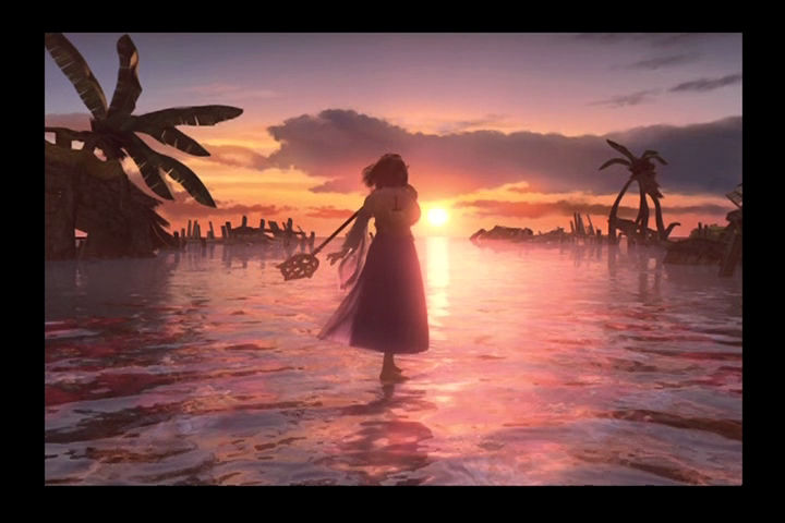 Final Fantasy X PlayStation 2 Yuna's dance.