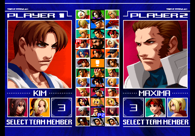 ps2 fighters of king