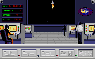 E.S.S. Atari ST Rocket launched the shuttle