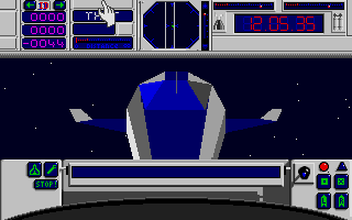E.S.S. Atari ST Looking at the shuttle as astronaut