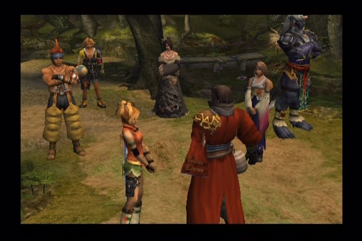 Final Fantasy X PlayStation 2 Full party complete