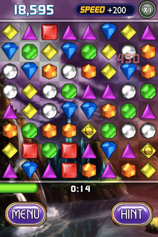 Bejeweled 2: Deluxe iPhone String a few together quick enough for an added bonus.