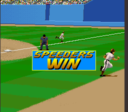 Relief Pitcher SNES Won a game