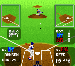 Super Batter Up SNES Pitching