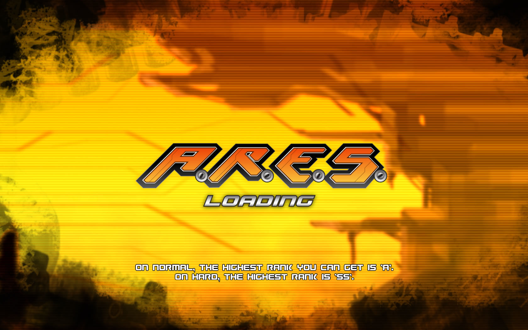 A.R.E.S.: Extinction Agenda Windows Loading screen