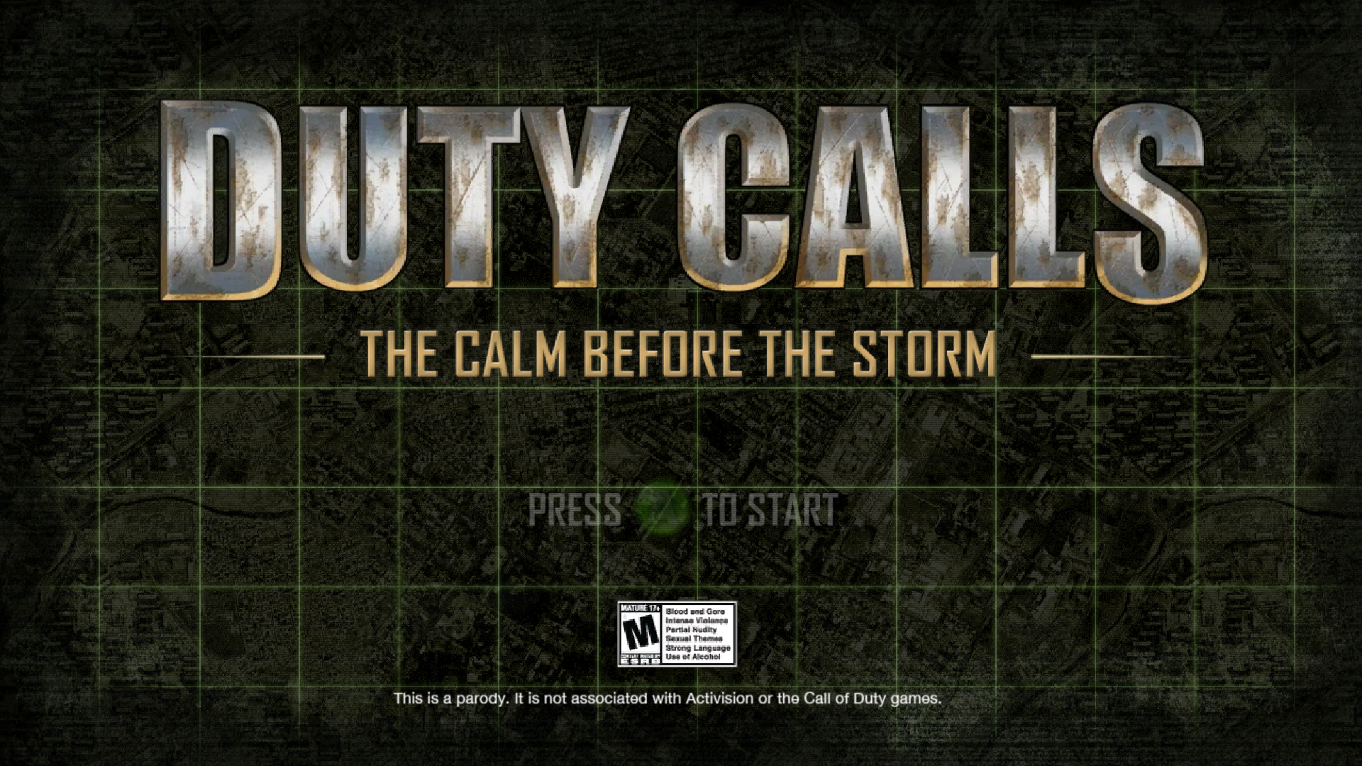 Duty Calls Windows Start screen