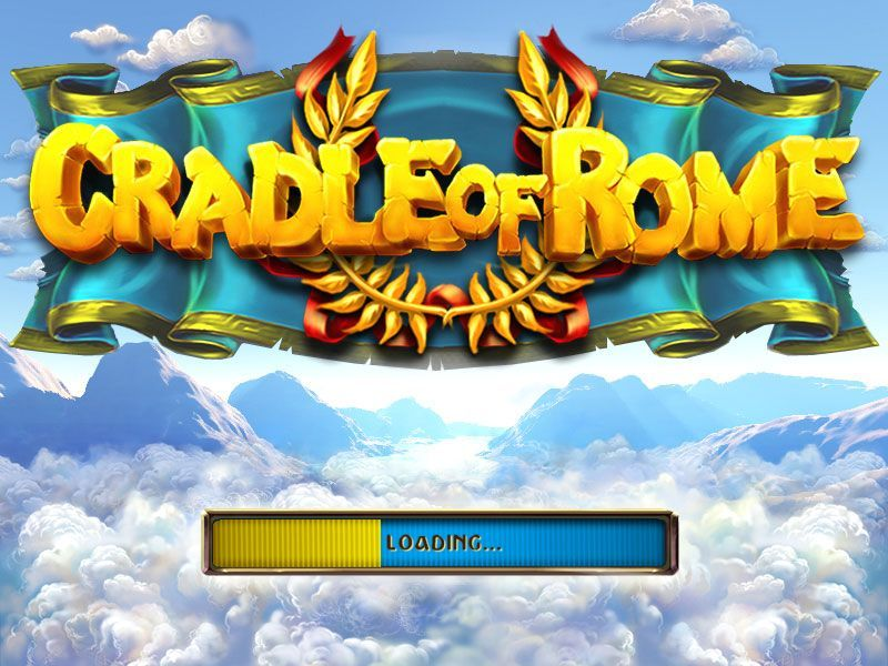 Cradle of Rome Macintosh Title / Loading